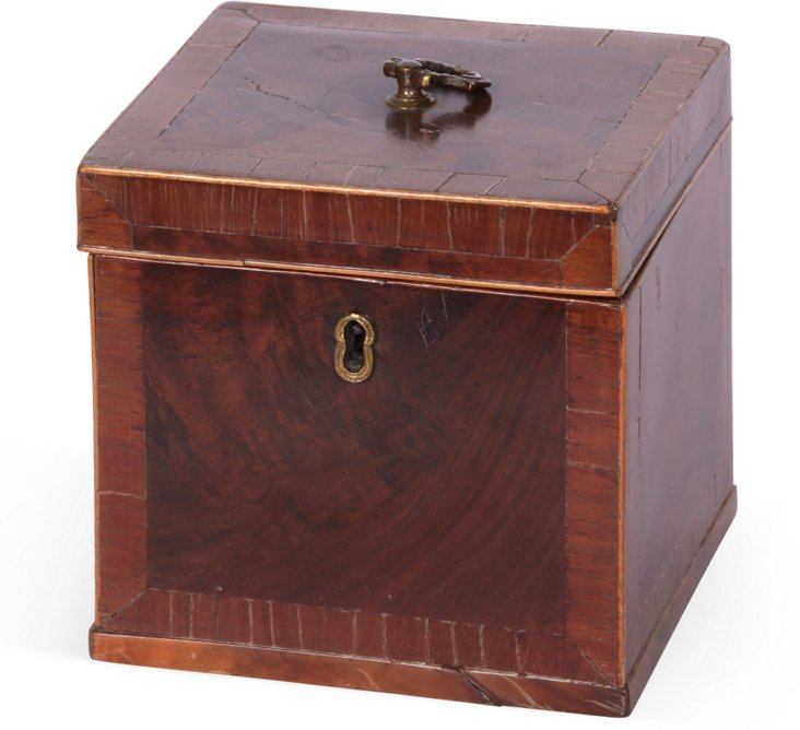 19th-C. English Tea Box