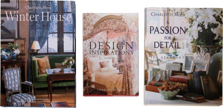 Charlotte Moss Books, Set of 3
