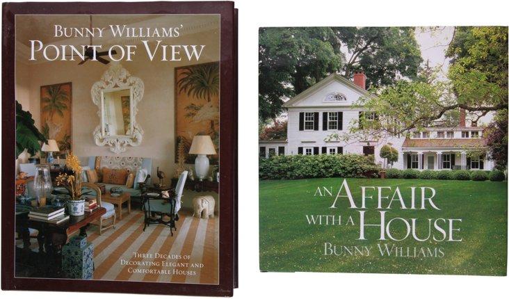 Bunny Williams Design Books, Set of 2