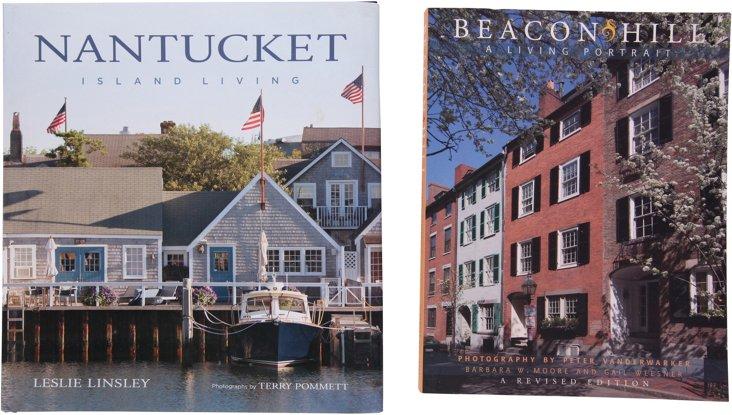 Books on Massachusetts, Set of 2