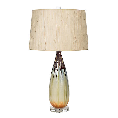 Quinn Drip Lamp, Multi w/ Sea-Grass