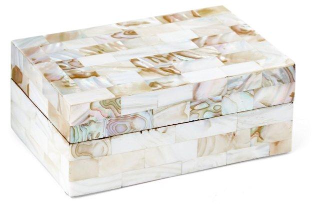 Mother-of-Pearl Vanity Box