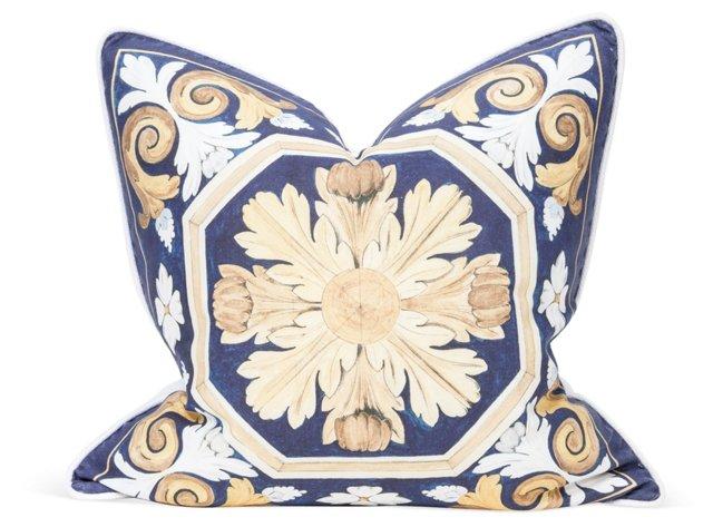 Casa Grande Gold Pillow