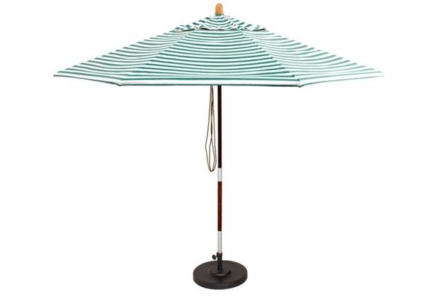 Market Umbrella, Green (w/o Stand)