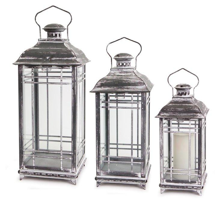 White Lanterns, Asst. of 3
