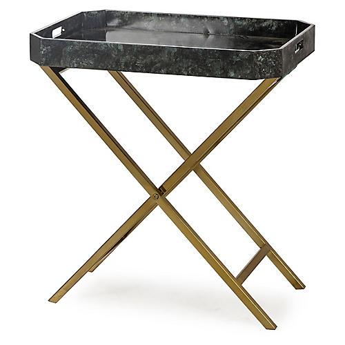 Butler Tray Table, Black