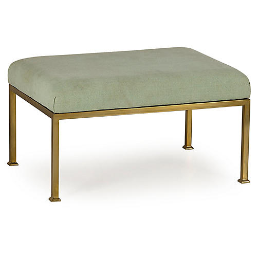 Mighty Ottoman, Celery Green