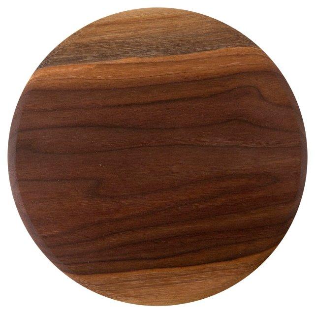 Walnut Round Serving Board