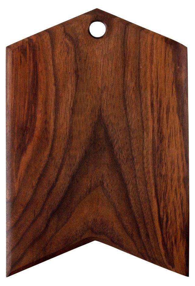 Walnut Arrow Serving Board, Small