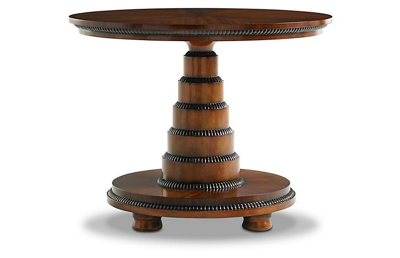 Asta Side Table, Mahogany