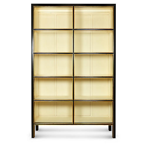 Chi Bookcase, Black