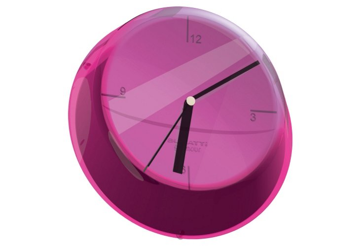 Glamour Clock, Lilac