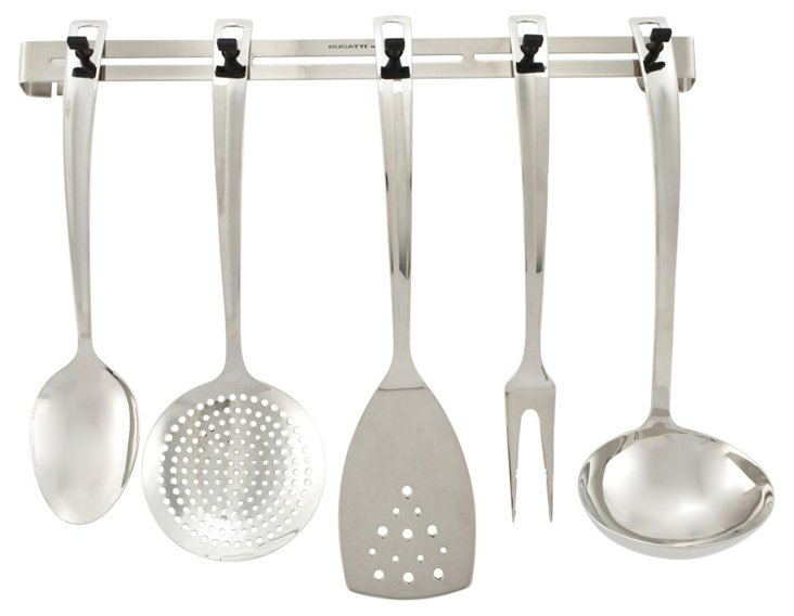 6-Pc Stainless-Steel Kitchen Set