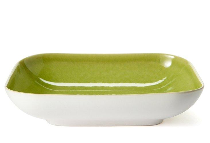 Small Rectangular Baker, Green