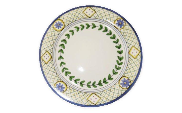Dinner Plate, Flower and Leaf