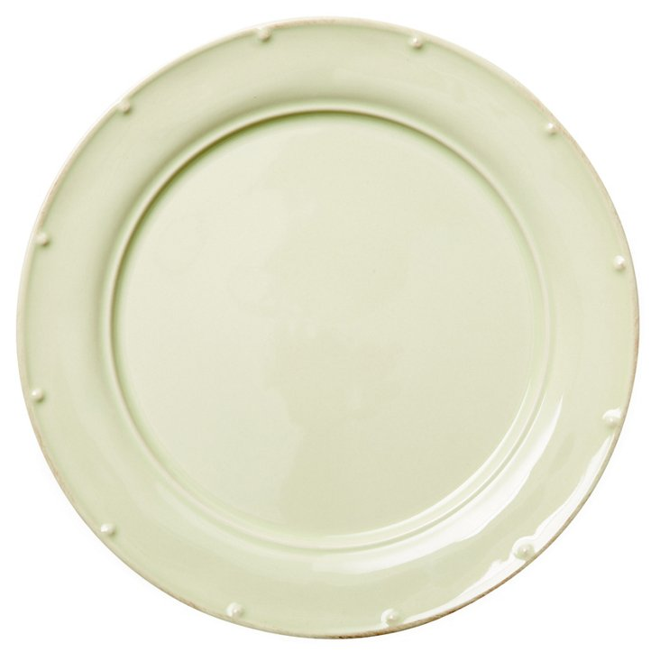 S/4 Dinner Plates, Sage