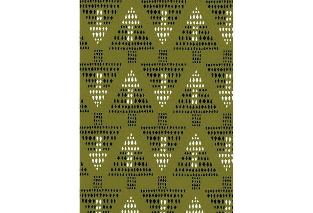 Cavern Home, Talisman Wallpaper, Moss
