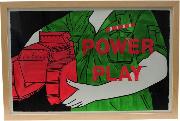 Power Play by Les Levine