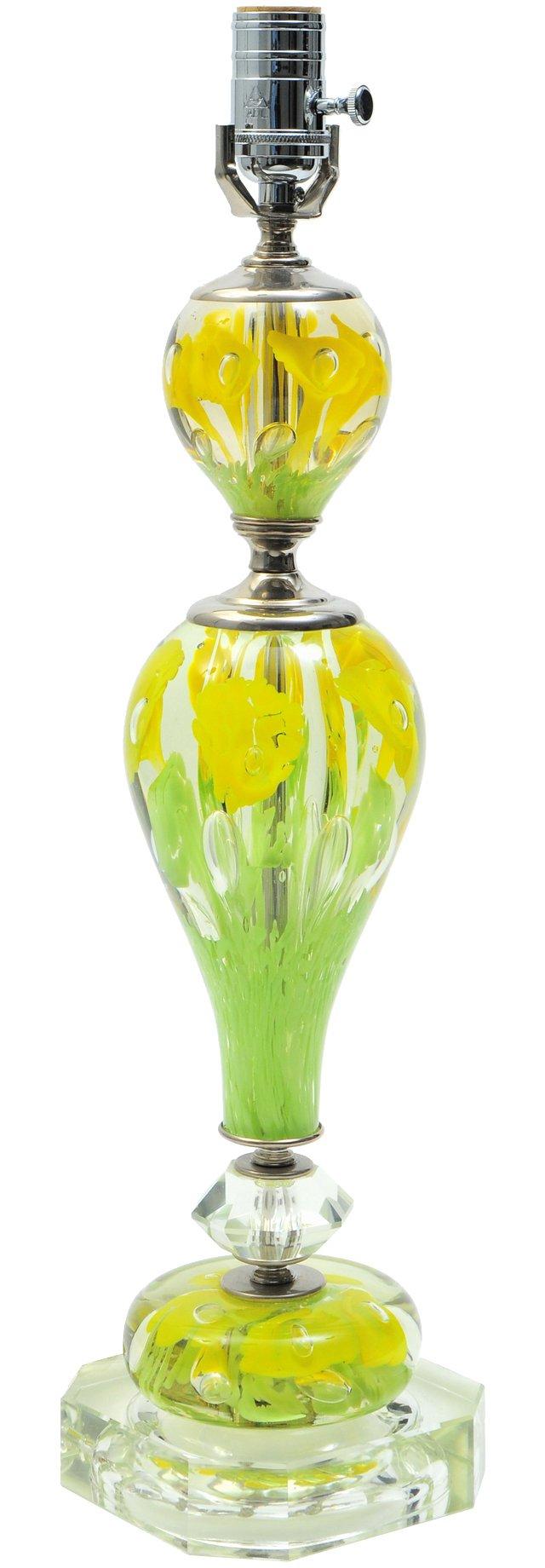 St. Clair Glass Lamp II
