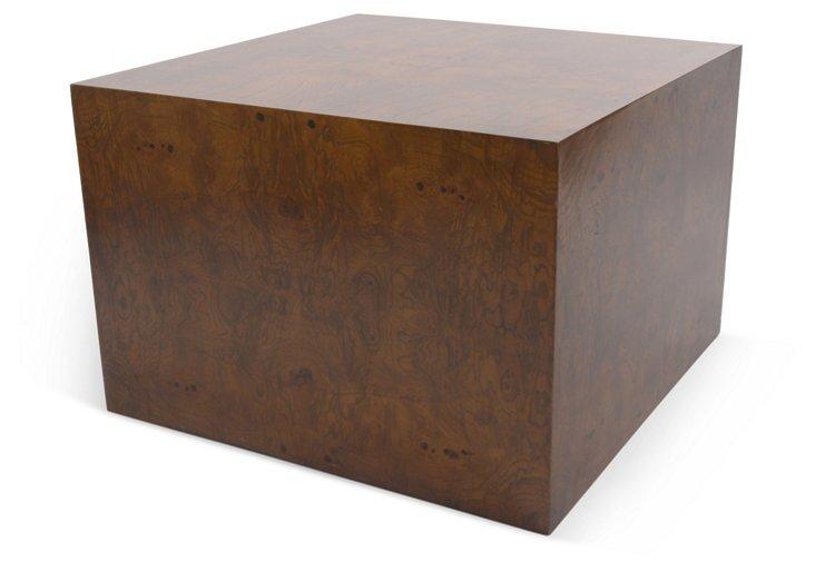 Burlwood Side Table