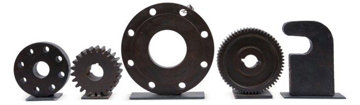 Gear Foundry Patterns, Set of 5, II