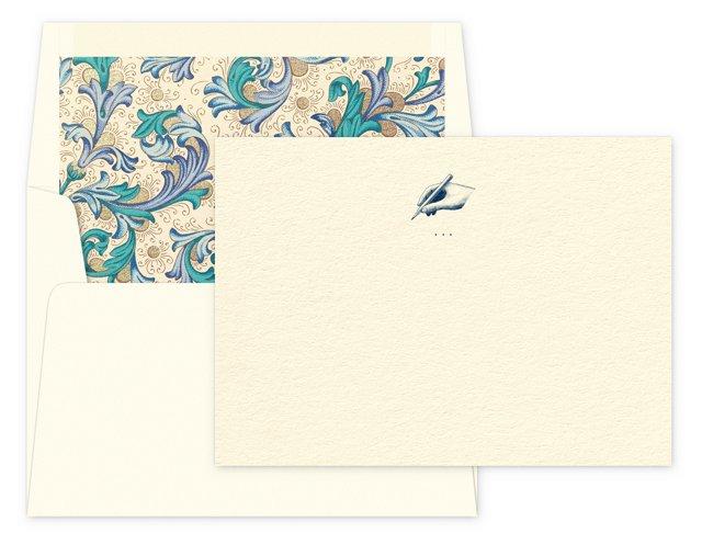 S/12 Handwritten Notes & Lined Envelopes