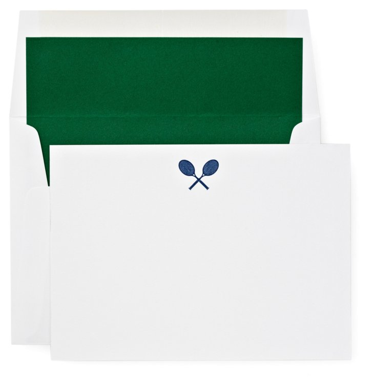 S/12 Note Cards, Match Point