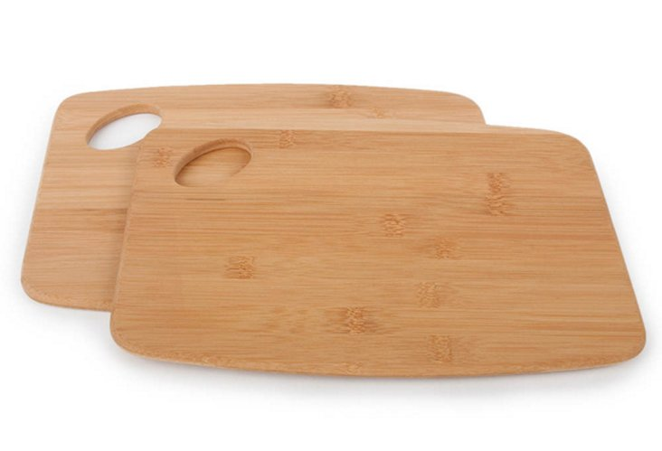 Core Bamboo Cutting Boards, S/2
