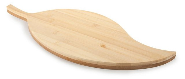 Reversible Bamboo Paddle Cutting Board