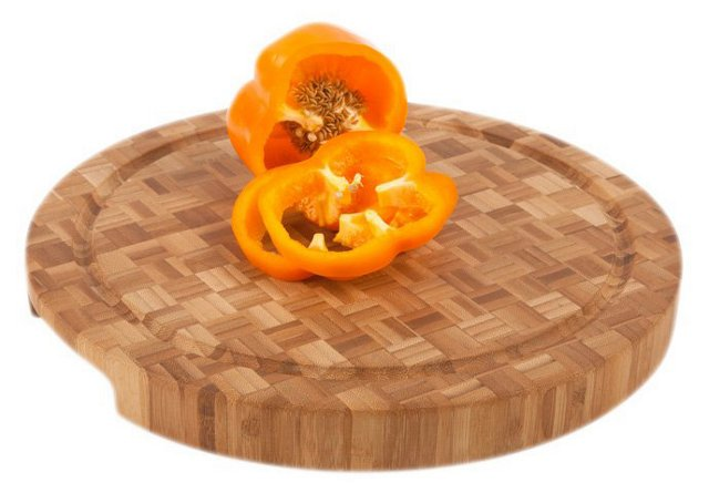 """12"""" Pro Chef Chop Block, Grooved"""