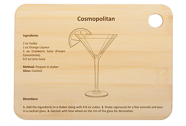 Cosmopolitan Cocktail Board