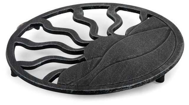 Cast Iron Sunrise Trivet