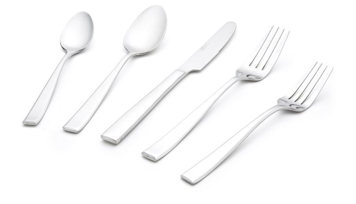 20-Piece Payten Satin Flatware Set