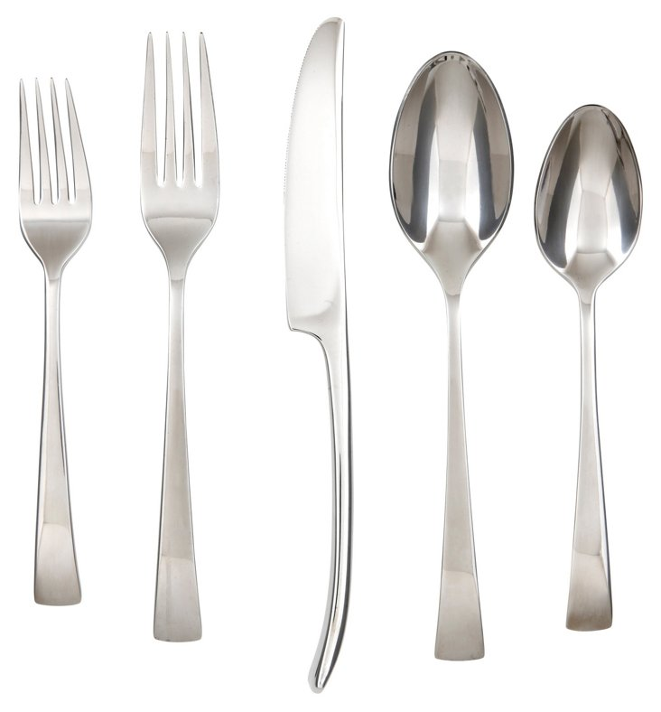 20-Pc Julian Mirror Flatware Set