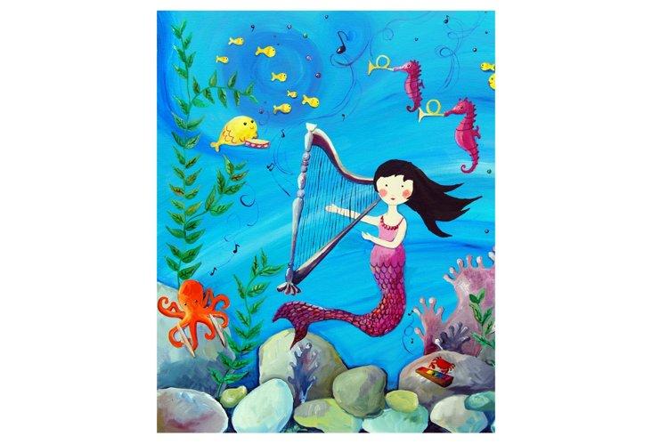 Mermaid 2, Paper Print