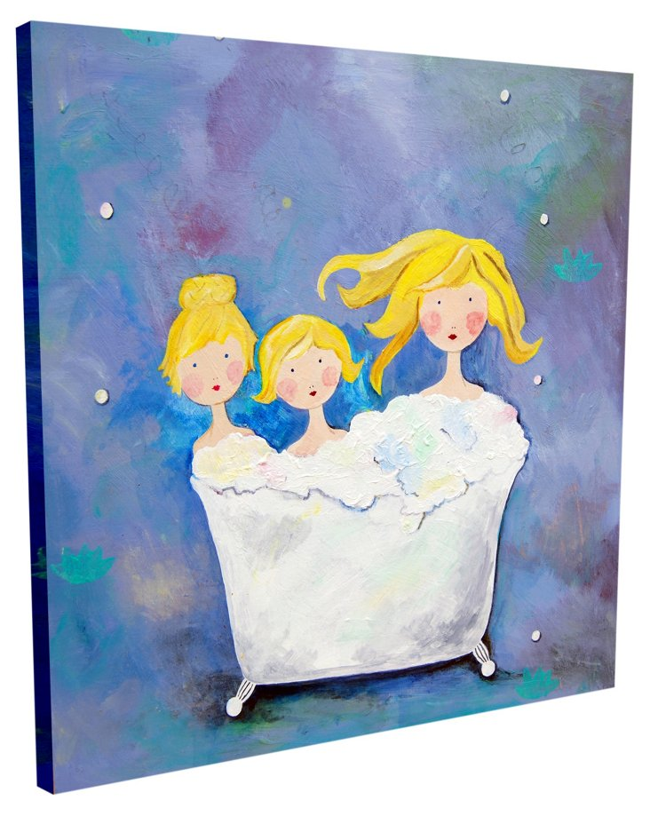 Three Sisters, Canvas