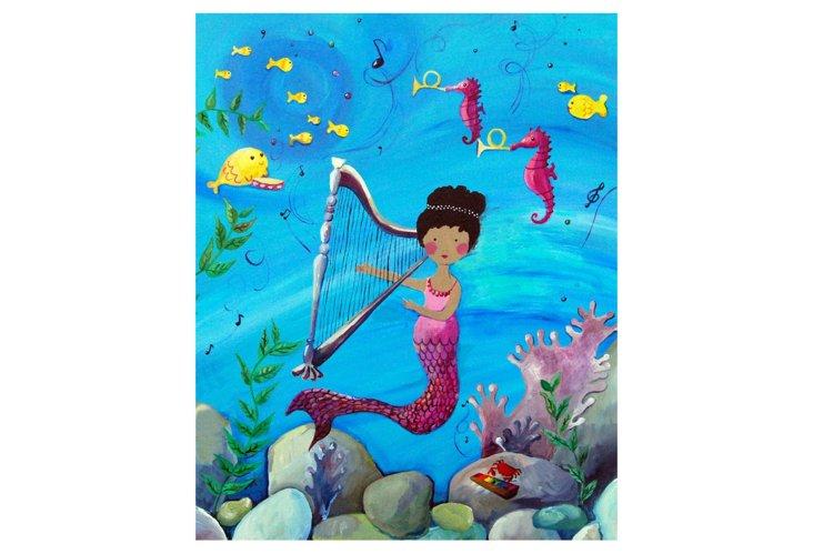 Mermaid 1, Paper Print
