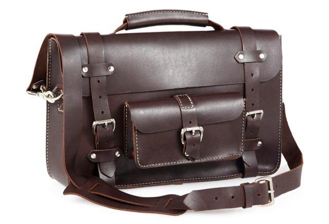 Book Bag, Brown
