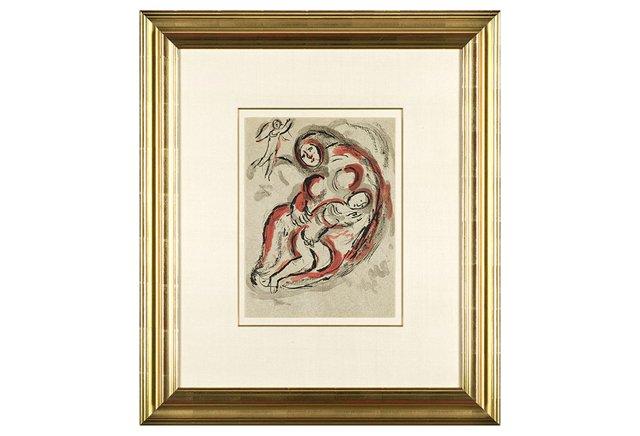 Chagall, Hagar in the Desert