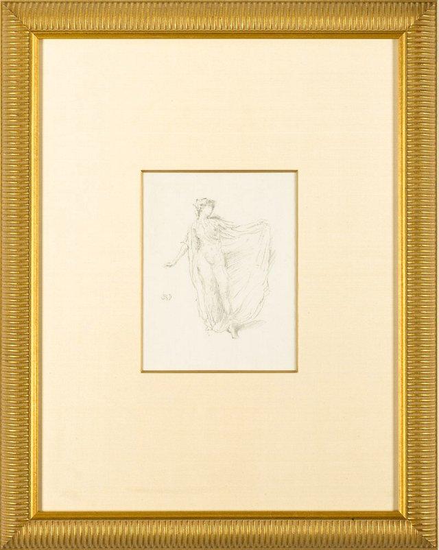 Whistler, The Dancing Girl 1889