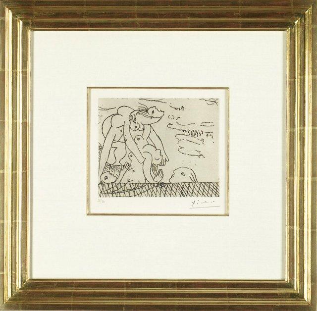Picasso, Le Sauvetage de la Noyée