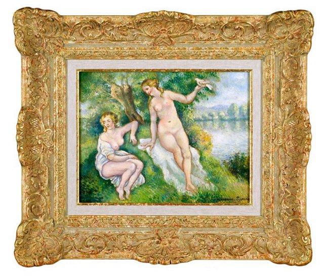 Georges-Henri Pissarro, Les Baigneuses