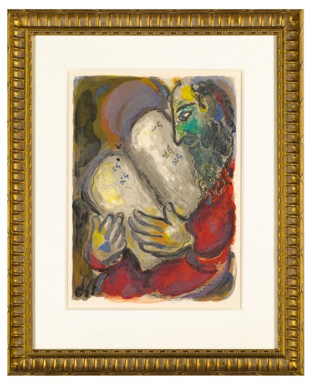 Chagall, The Tablets Of The Covenant