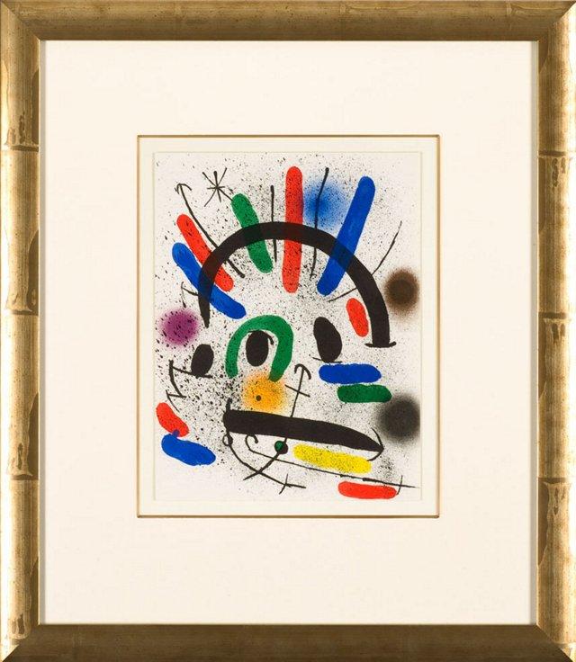 Joan Miró, Untitled Lithographe I 1972