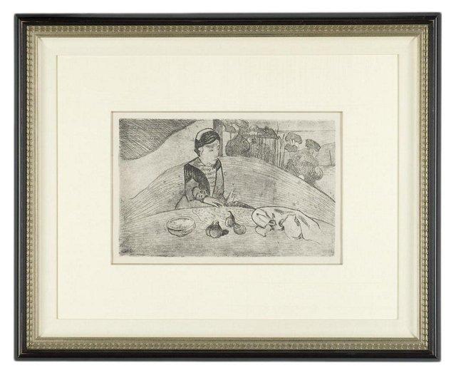Gauguin, Le Femme aux Figues
