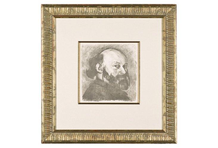 Vuillard, Portrait De Cezanne, 1914