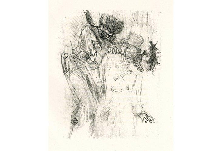 Toulouse-Lautrec, Arrestation