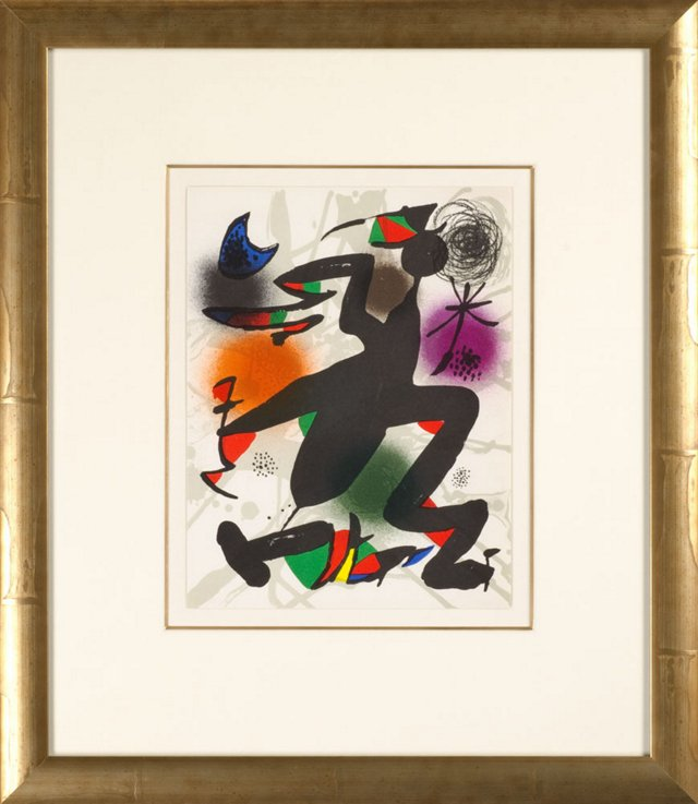 Untitled Joan Miró Lithographes III 1977