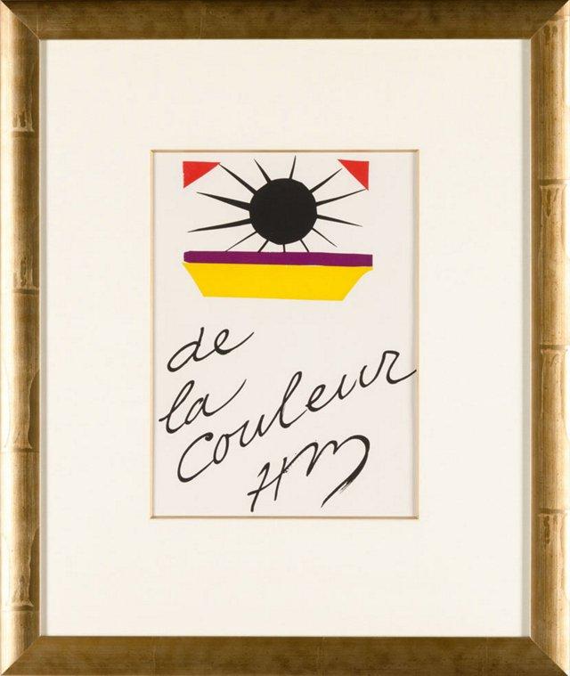 Henri Matisse, De La Couleur 1945