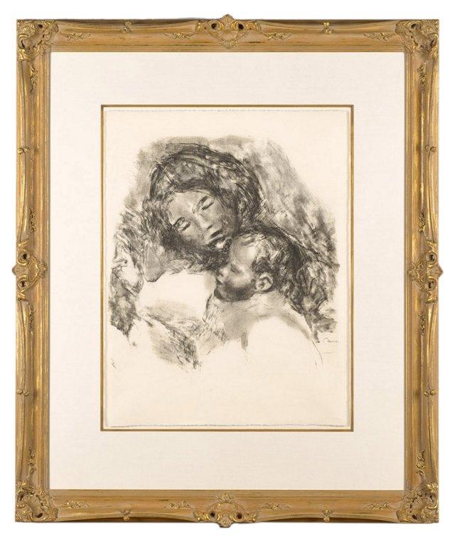 Renoir, Maternité Grande Planche 1912